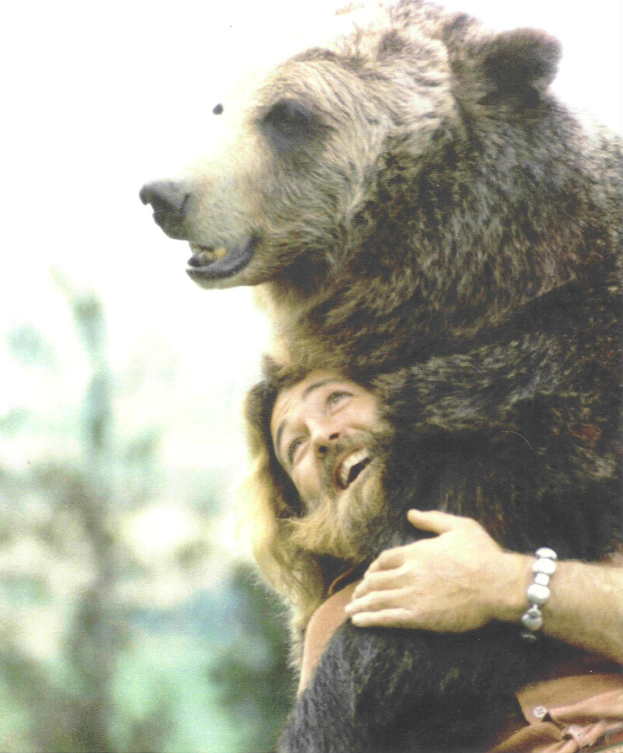grizzly adams and bear